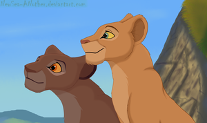 Nala and Chozi by NewSea-ANother