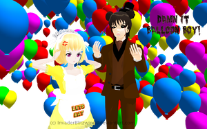 MMD FNaF - This is all his fault by InvaderBlitzwing