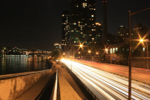 East River Streaking by namespace