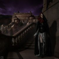 The Girl from the Castle by KAVIZO