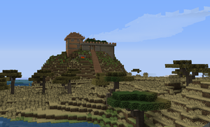 Minecraft fort by Rodreges742