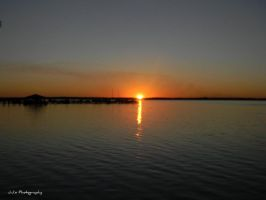 Sunset over the St. John's River, Florida by gdsbngd2me