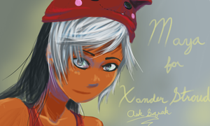Maya for XanderStroud by OverVenture
