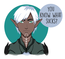 Fenris in #17 (ANIMATED) by Ruby-Rust