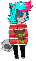 rad reindeer is rad by SpunkyRacoon
