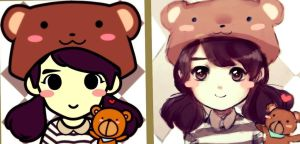 Redraw of my FaceQ by Tamago101