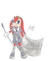 Fleetway Knuckles 1 by steffie