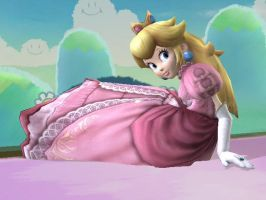 SSBB Princess Peach pic 6 by LinkZeldafan29