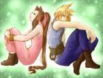 FF7- Moments in Time by LukyLady123