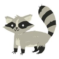 Racoon by lemon5ky