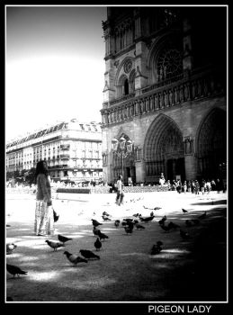 Pigeon Lady by Maginater