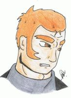 Angry Christophe by hyperpsychomaniac