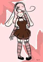 Shy Bunny Maid Adopt-FREE CHIBI (CLOSED) by Melon-Shark