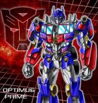 Optimus Prime movie full color by nakoshinobi
