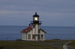 Point Cabrillo Lighthouse by Rayroze