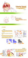 :: Tutorial : PTS : Hair Shading[]Colouring :: by Shizumii-Kaii