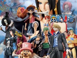 One Piece portada by stopmotionOSkun