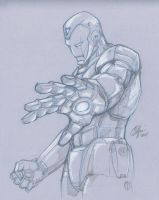Con Sketch Ironman by Oshouki