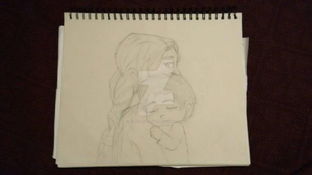 Val and baby Hiccup by Disneypeacelove