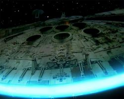 The Millenium Falcon by JakeGreen
