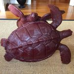 'VOYAGER' bronze green sea turtles coffee table ba by bronze4u
