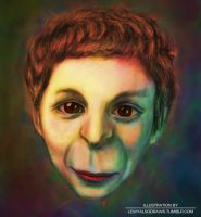Michael Cera characature by Lewis3222