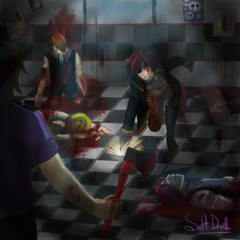 Five nights at Freddy's 3 by Soft-Death