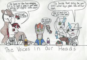 The Voices In Our Heads by LupinKurt