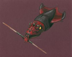 Darth Maul Squid by MegLyman