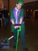 Philly ComicCon 2013 The Riddler! by Hannah2070