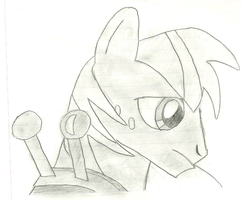 Hand Drawn Big Macintosh by RDbrony16