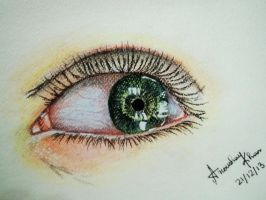 Eye by AnoushayKhan