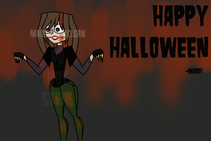 Spoopy Drawing!!1!!11!!1!1!! by MadelineMclean