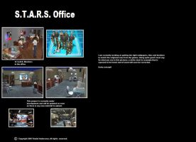 Resident Evil STARS Office by SASWHITEKNIGHT