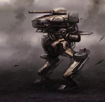 Mech concept by Darkcloud013