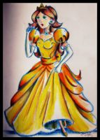 Princess Daisy by QuantumGinger