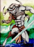 Minotaur by CMBaggs