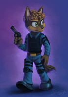 Commission: Ty Hardison by AbsoluteDream