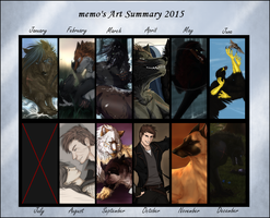Art Summary 2015 by Mempsis