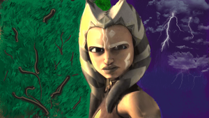 Ahsoka Tano Photo Paint by WildHorseFantasy