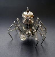 Vacuum Spider No 4 by AMechanicalMind