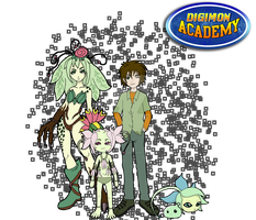 Digimon Academy: Team Black by SulfuricAcid