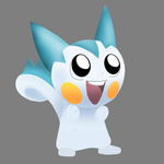 Finished Pachirisu! by KiddlesTheCat