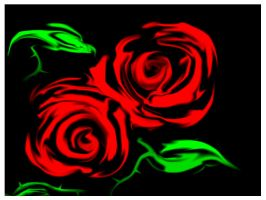 Red Roses by oufve