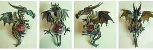 Little Dragon Ornament by Angi-kat