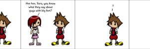 Kingdom Hearts Comic 2 by SlightlyGreen