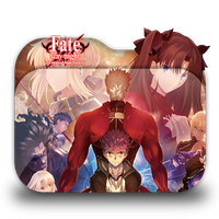 Fate/stay night Unlimited Blade Works2 Folder Icon by Minacsky-saya