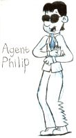 Agent Philip Character sketch by Nate-Spidgewood