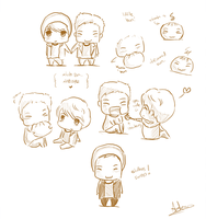 Xiuhan Sketches by tangerine-skye