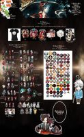 ::Japan Expo-Comic Con 2013 products part 2:: by VanRah